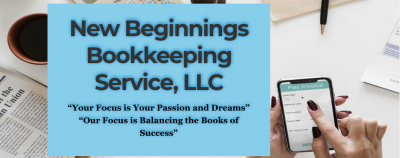 New Beginnings Bookkeeping Service, LLC